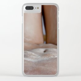 woman body Clear iPhone Case