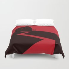Alfred Hitchcock's Psycho Duvet Cover