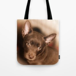 Puppy- Australian Kelpie Tote Bag