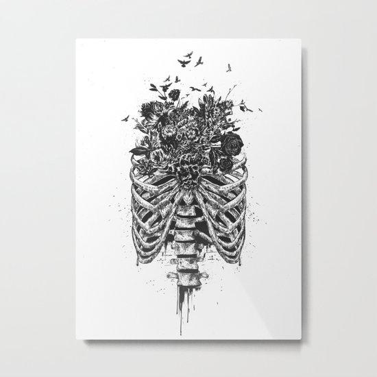 New life (b&w) Metal Print