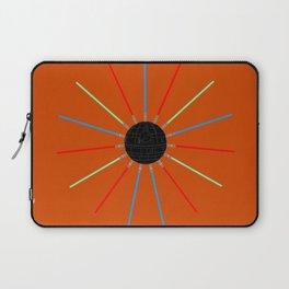 A twinkling Death Star Laptop Sleeve