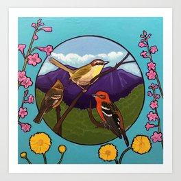 3 Arizona Rarities Art Print
