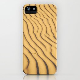 sand ripples iPhone Case