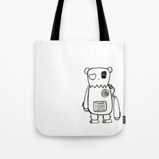 robo bear Tote Bag