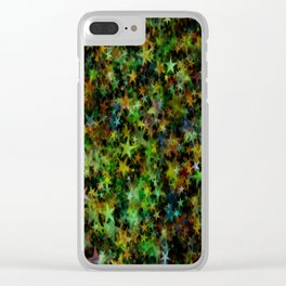 star abstract advent christmas Clear iPhone Case