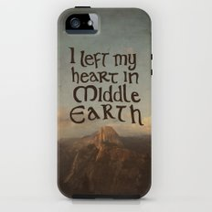 I Left My Heart in Middle Earth Tough Case iPhone (5, 5s)