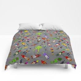 Butt of Superhero Villian - Dark Comforters