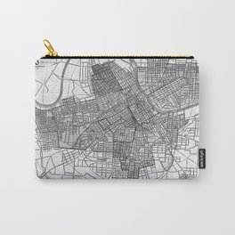 Vintage Map of Nashville Tennessee (1920) BW Carry-All Pouch
