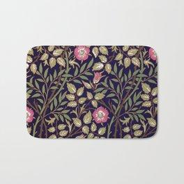 William Morris Sweet Briar Floral Art Nouveau Bath Mat