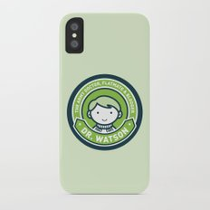 Cute John Watson - Green Slim Case iPhone X