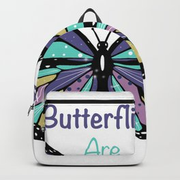 Butterflies are Free Backpack