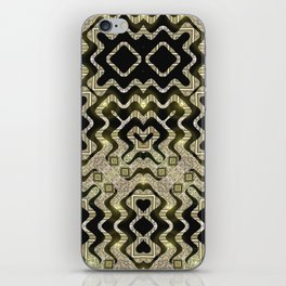 Tribal Gold Glam iPhone Skin