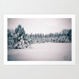 After the Blizzard, Bismarck, North Dakota Art Print