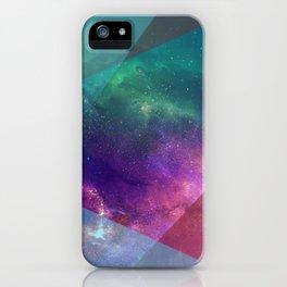 Deep Blue Galaxy iPhone Case