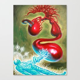 Energy Leech - Adam France Canvas Print