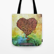 Brainheart Tote Bag