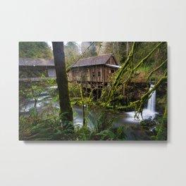 Cedar Creek Grist Mill Metal Print