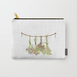 Original Herbs in Pastel Color Carry-All Pouch