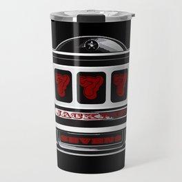 Jackpot Sevens Slots concept logo graphic Travel Mug