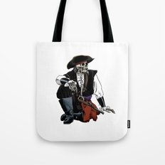 Pirate Skull Pattern Tote Bag