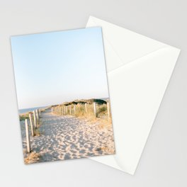 walkway on the beach - Beach Collection | The Netherlands - Travel photography | Art Print  Stationery Cards
