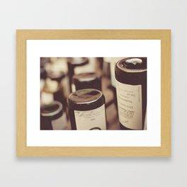 Bottle Bottoms Framed Art Print