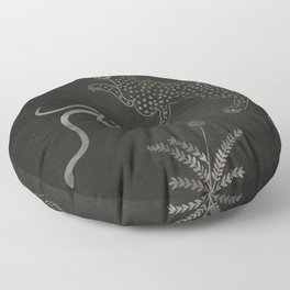 Desert Prey Ink Floor Pillow