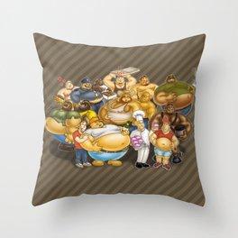 Grommr Guys Throw Pillow