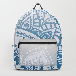 Mandala on grunge background Backpack
