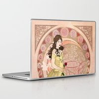 once upon a  time Laptop & iPad Skins featuring Once Upon a Time by Morgan Inslee Groombridge