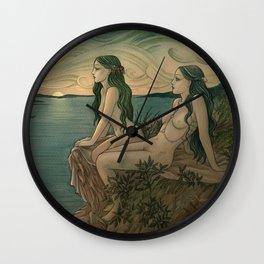 Nereids Wall Clock