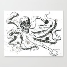 The Octoskull Canvas Print