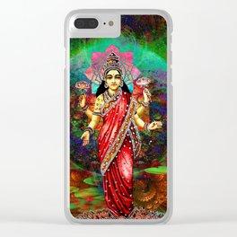 lakshmi Clear iPhone Case