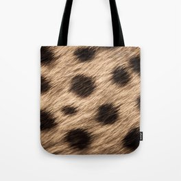Safari Gepard Fur Tote Bag