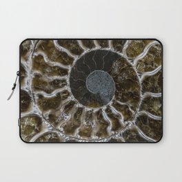 Patterns of ammonite Laptop Sleeve