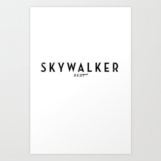 Fallwalker Art Print