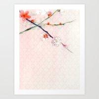 Soft Spring Blossoms Art Print