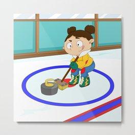 Winter Sports: Curling Metal Print