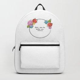 Floral - Killin Em Backpack