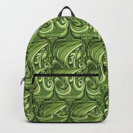Luscious Locks - Green Backpack