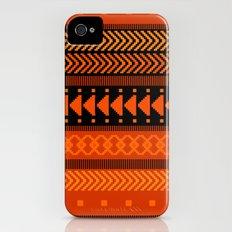 Under the Volcano - tribal geometrics Slim Case iPhone (4, 4s)