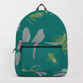 Dragonflies and Bugs Backpack