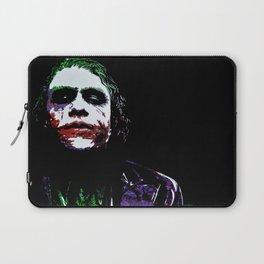 Heath's Joker Pop art Portrait Laptop Sleeve