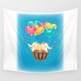 give hearts Wall Tapestry