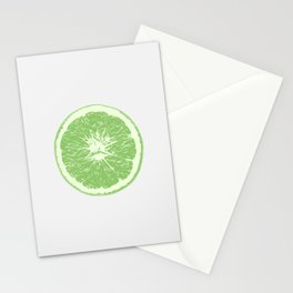 Lime - Citrus Stationery Cards