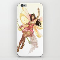 fairy iPhone & iPod Skins featuring Fairy by clayscence