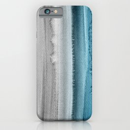 Waves on The Moon iPhone Case