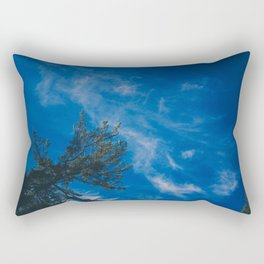 The eagle and the blue sky Rectangular Pillow