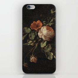 Elias van den Broeck - Still life with roses - 1670-1708 iPhone Skin