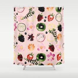 Fruit festival pattern Shower Curtain